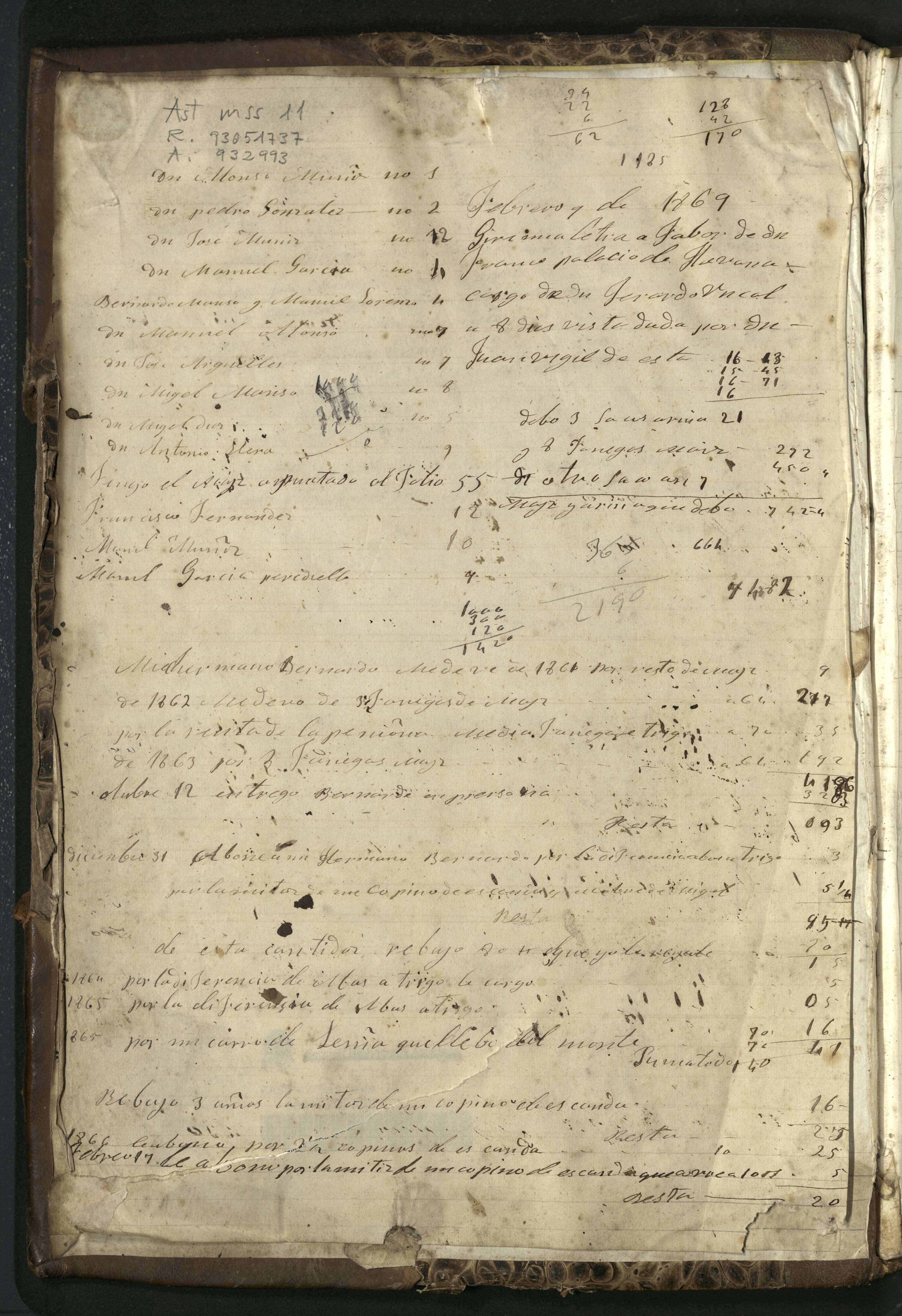 a81a1ebd0b15 BIBLIOTECA VIRTUAL DEL PRINCIPADO DE ASTURIAS > Libro de cuentas con ...